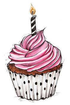 1st blogiversary, cupcake - happy birthday to my blog