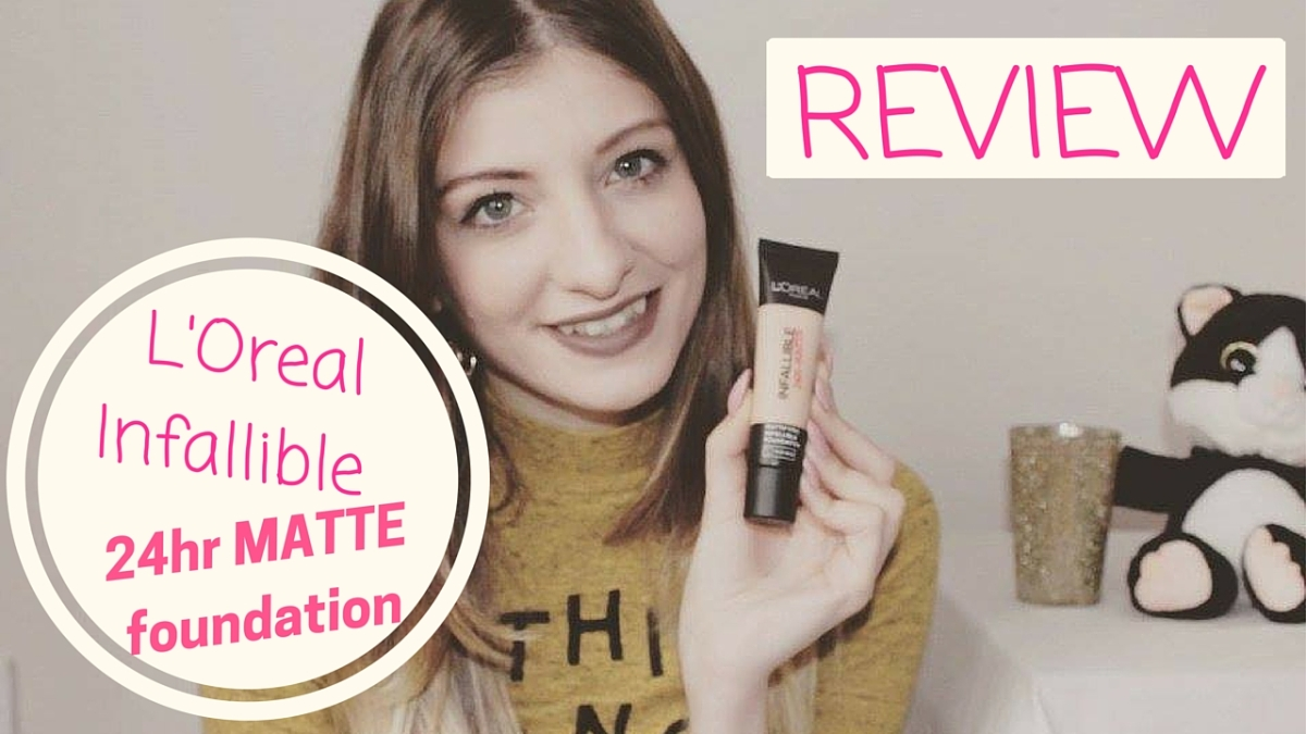 Review – L'Oreal Infallible 24 Hour Foundation
