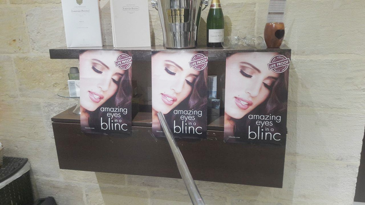 Makeup Launch Event & Review on Blinc – World's first tube forming Mascara and peelable eyeliner