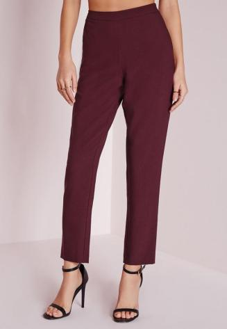 skinny-crepe-trousers-burgundy